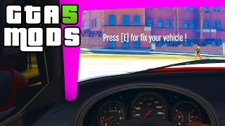 GTA 5 PC MODS - Vehicle Repair Station [LUA] 1.2 (Script Mod)