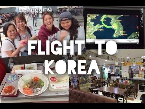 14 HOUR FLIGHT TO KOREA | ARRIVAL IN SEOUL [#TAMinKorea]