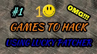 Top 10 Game That You Can Hack With Lucky Patcher