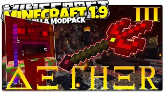Minecraft 1.9 | ULTIMATE BOSS LOOT | AETHER #3 (Minecraft Custom Command Mod Pack)