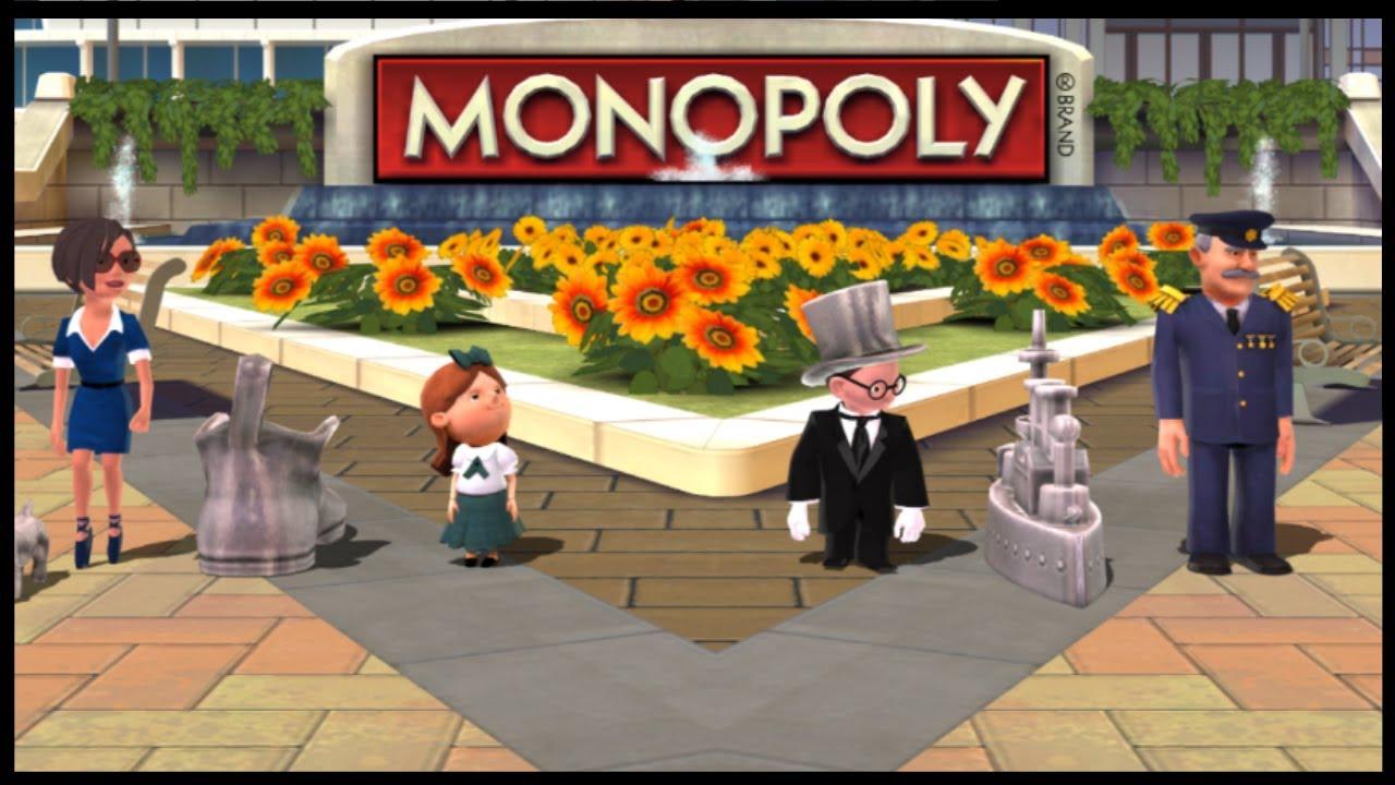 Monopoly Streets – Nintendo Wii Playthrough 【Longplays Land】HD