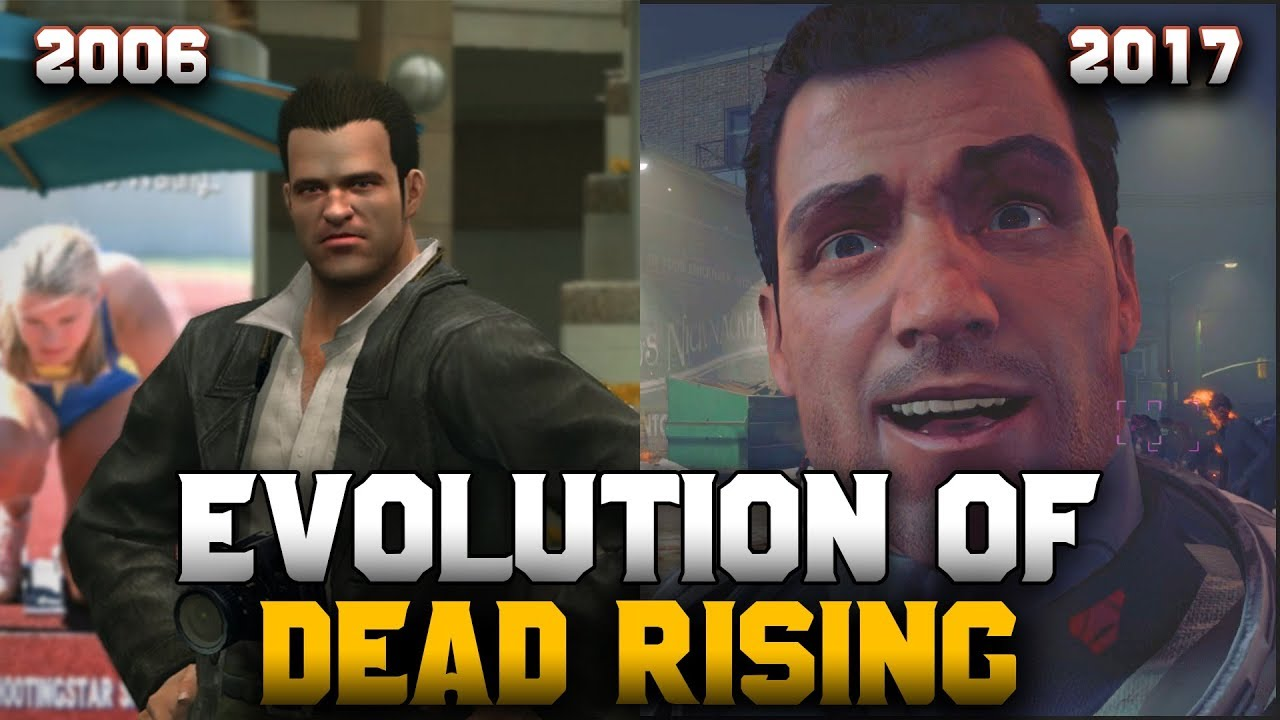 Graphical Evolution of Dead Rising (2006-2017)