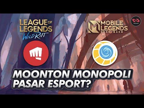 Moonton Takut Kalah Saing - Monopoli Pasar Esport Wild Rift & Semua MOBA ?