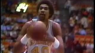 02-12-78 NBA Regular Season- Chicago Bulls at Indiana Pacers (part 1)