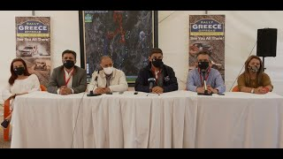 Rally Greece Offroad 2021   Press Conference