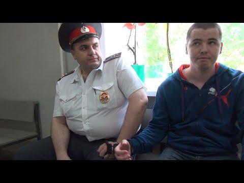 """В наручниках и вне ФЗ """"О полиции"""""""