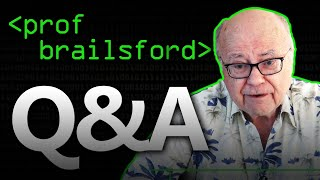 50 Years of Computer Science: Professor Brailsford Q&A - Computerphile