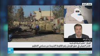 تقدم للجيش العراقي في عمق الموصل رغم مقاومة الجهاديين الشرسة