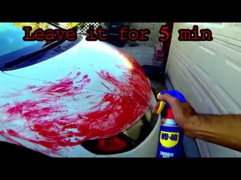 Can Goo Be Gone Be Used On Car Paint