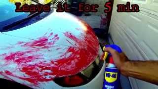 Download Removing thin plasti dip (blood) WD40 Mp3 and Videos