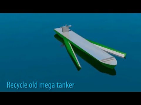 ocean cleaner mega ship