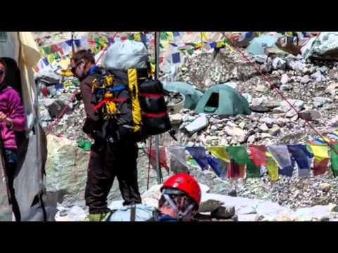 Climbers create traffic