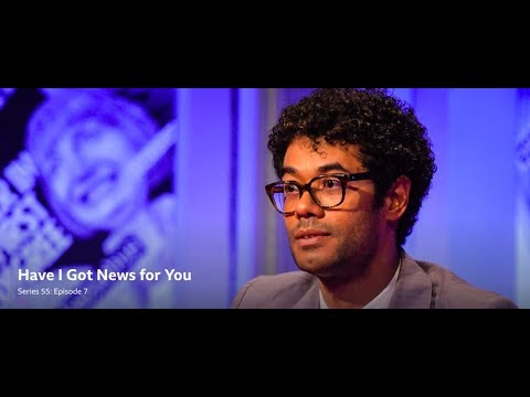 Have I Got  for You, S55 E7. Richard Ayoade, Roisin Conaty, Robert Peston. 18 May 2018