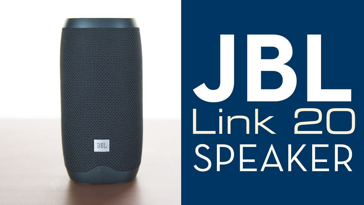 Overview: JBL Link 20 Portable Bluetooth Voice Activated Speaker