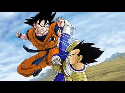 Learning how to fly plus Mean vegeta