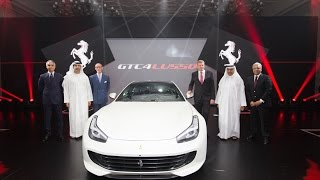 Al Tayer Motors launches the GTC4 Lusso in Dubai