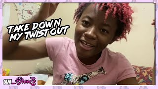 Take Down My TwistOut | How 2 Hair Tutorial