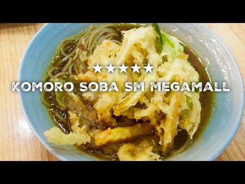 Komoro Soba Best Kakiage Soba SM Megamall Mandaluyong Manila by HourPhilippines.com
