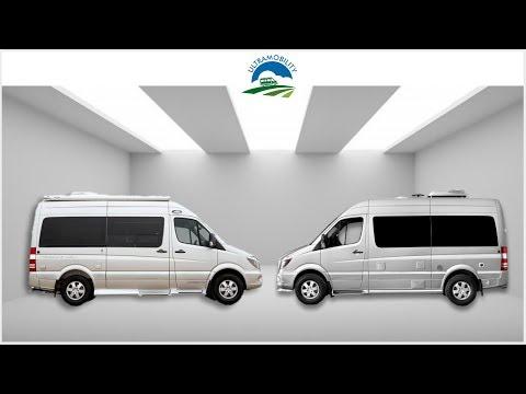 The Top 2 Premium Class B Camper Vans Under 20' | Pleasureway Ascent versus Airstream Interstate 19