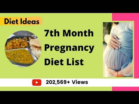 Healthy Diet For 7month Pregnant Women/ Healthy Pregnancy Meals / Which Foods to Eat -YourYouTubeMom