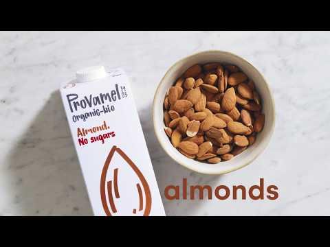 DIY Provamel Almond No Sugars drink
