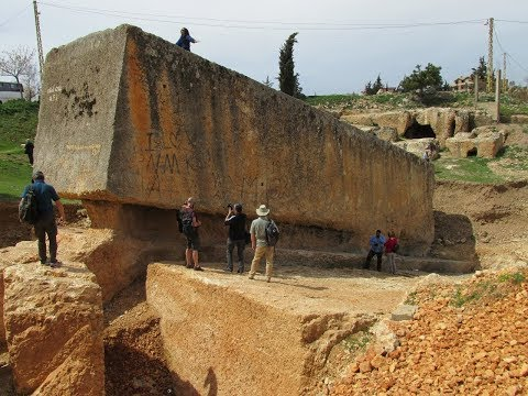 Exploring The Megalithic Quarry Of Baalbek Lebanon