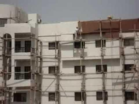 Kuwait building egyptian worker