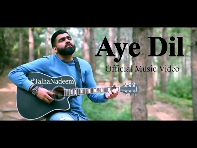 | Aye Dil | Official Music Video | Talha Nadeem | New Pakistani Music 2019 | Latest Pop Song |