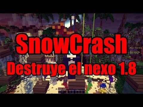 [SnowCrash] ¿Old Shotbow? + SORTEO! | Server Review! | Destruye el nexo 1.8 | 60fps♥