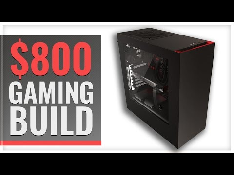 $800 Gaming PC Build - 1080p Ultra Machine