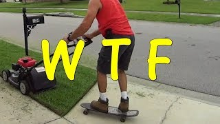 Cutting Grass and Weedeating a Yard Like a Boss - Front Yard Clean Up with Pro Tips
