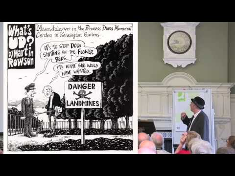 World Humanist Congress: Martin Rowson on Giving the gift of offence
