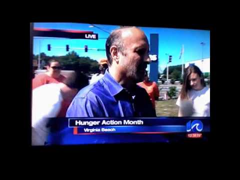 Kevin Kennedy from Movin 107.7 radio in Hampton Roads on WAVY TV 10!