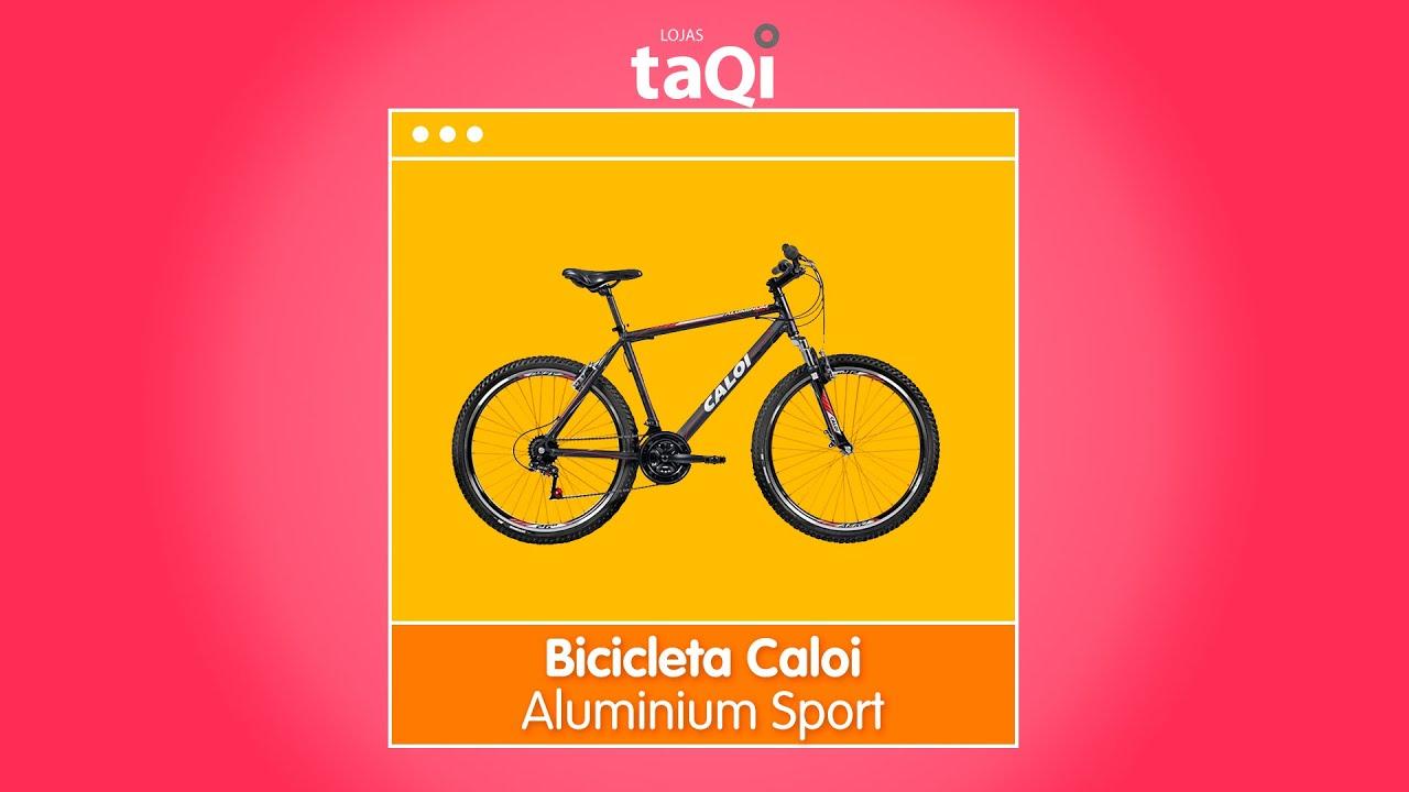 79e801b70 Bicicleta Caloi Aluminium Sport