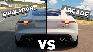 Simulation Racers VS Arcade Racers - Food For Thought