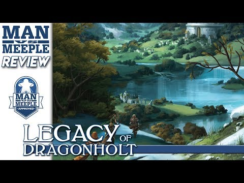 Legacy of Dragonholt (Fantasy Flight Games) Review by Man Vs Meeple