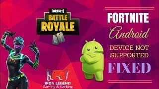 How To Play Fortnite V5.40 On Android For Free In Incompatible Devices | [NOT WORKING ANYMORE]