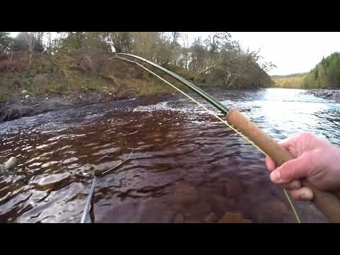 South Tyne Salmon On Fly 29th Oct 2017