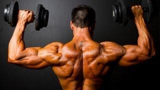 Как накачать плечи в домашних условиях. Как накачать плечи гантелями. Обучающее видео.(Как быстро НАКАЧАТЬСЯ ГАНТЕЛЯМИ дома и НАБРАТЬ МЫШЕЧНУЮ МАССУ: http://www.athleticblog.ru/?page_id=3901 Программа фитнес..., 2011-07-27T19:43:01.000Z)