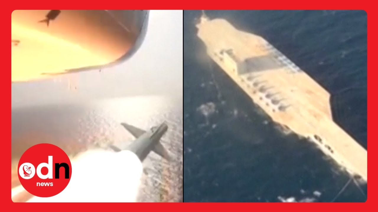 Iran Stages Attack on Replica US Aircraft Carrier in Threat to 5th Fleet