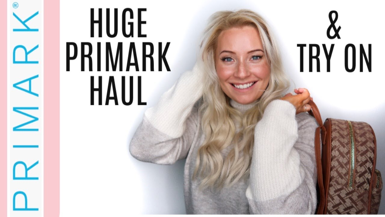 NEW!! HUGE PRIMARK TRY ON HAUL! | SEPTEMBER 2019 AUTUMN / WINTER FASHION | NEW IN FASHION 5