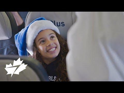 Miracle de Noël WestJet : 12 vols de Noël