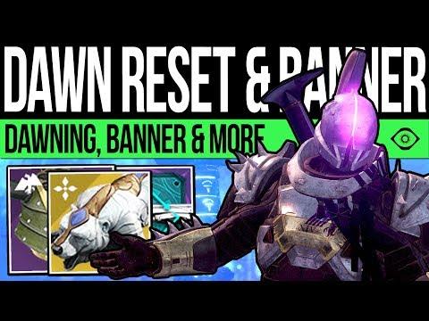 Destiny 2 | DAWNING RESET & NEW BANNER! DLC Quests, Vendors, Rewards, Pinnacles & More (24th Dec)