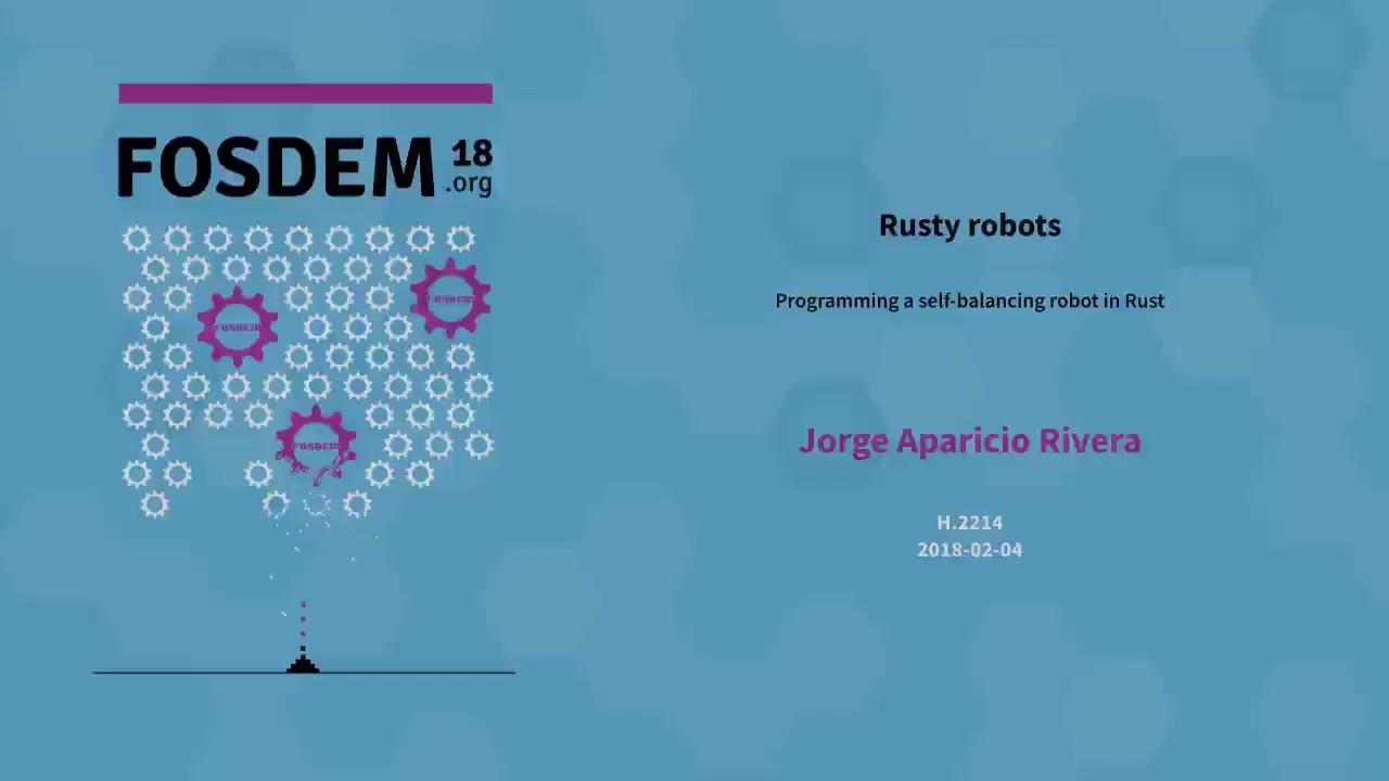 Download Jorge Aparicio Rivera - Rusty Robots