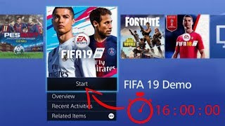 FIFA 19 DEMO OFFICIAL RELEASE TIME (WORLDWIDE) CONFIRMED BY EA SPORTS