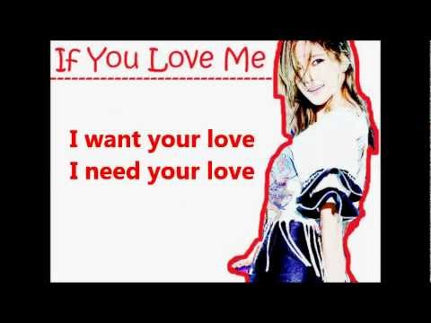 NS Yoon-G ft. Jay Park - If you love me easy lyrics