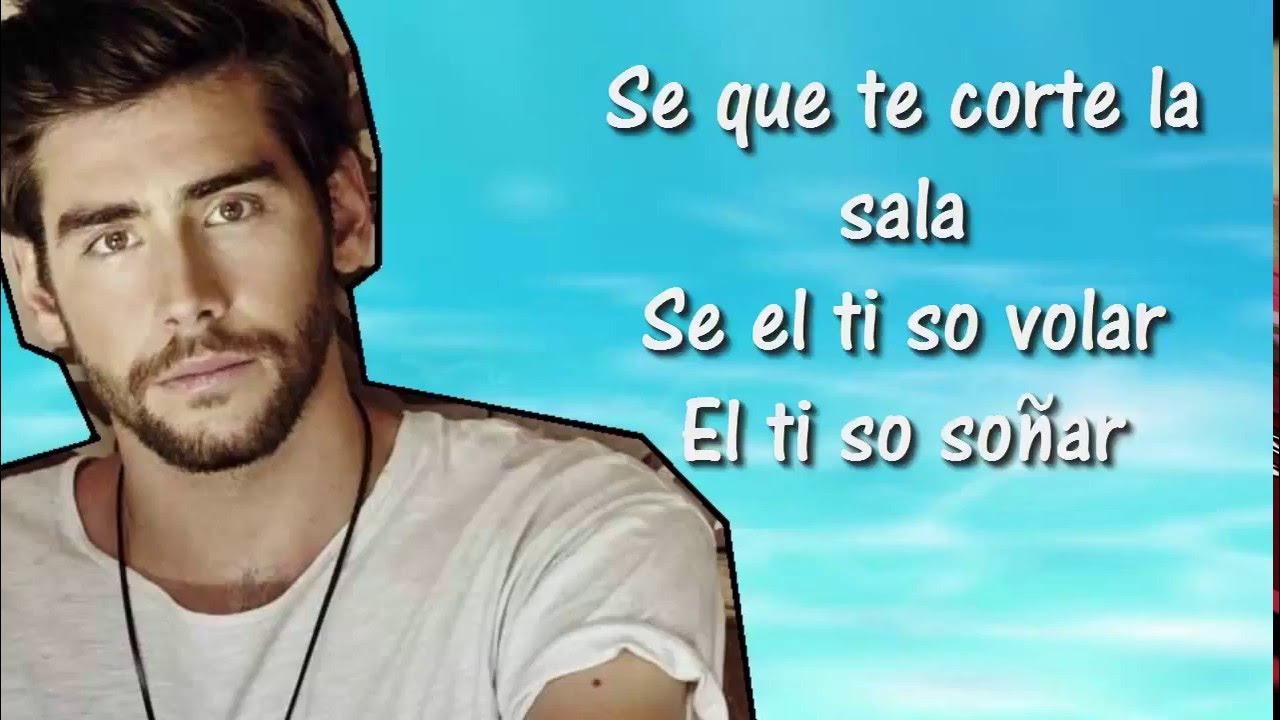 Sofia Alvaro Soler Lyrics Testo Letra Youtube