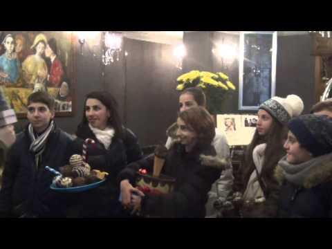 ESCKAZ Live In Kyiv: Meeting Monica And Choco Team (Armenia)