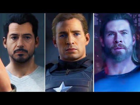 Marvel's Avengers Ft. Robert Downey Jr, Chris Evans, Chris Hemsworth, Scarlett Johansson [DeepFake]
