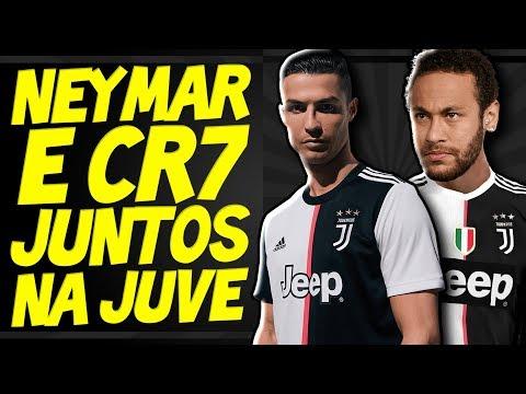 Neymar e Cristiano Ronaldo JUNTOS NA JUVENTUS? Entenda TODA A HISTÓRIA - Transferências 2019